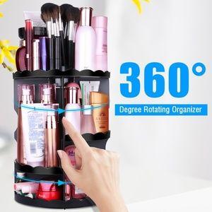 Multi Function 360 Rotating Makeup Organizer